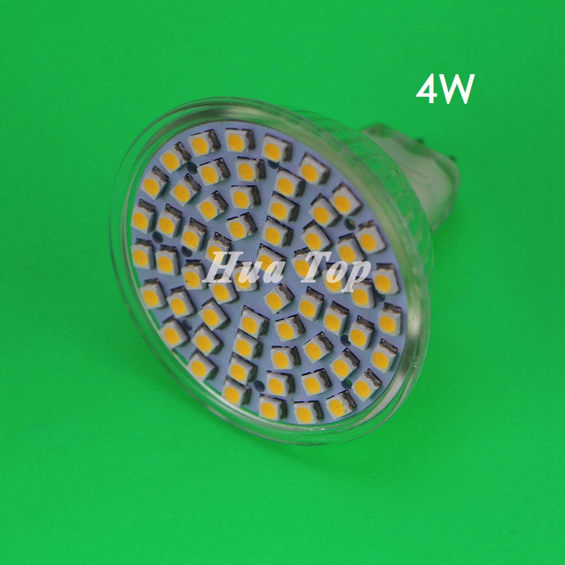 20Pcs 4W MR16 <font><b>LED</b></font> <font><b>cup</b></font> <font><b>bulb</b></font> DC 12V Home <font><b>lamp</b></font> SMD 3528 60 <font><b>leds</b></font> <font><b>Spotlight</b></font> White small lampada Energy Saving Cystal candle ampoule