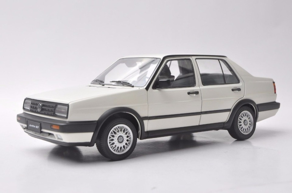 1 18 Diecast Model For Volkswagen Vw Jetta Gt Mk2 1984 White Sedan Rare Alloy Toy Car Miniature Collection Gifts Diecasts Toy Vehicles Aliexpress