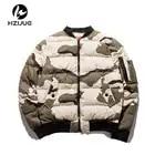 HZIJUE 2017 Air Force Uomo Giubbotti Giacca Mimetica Uomini Causale Outwear Giubbotti E Cappotti Mens Tasche Dei Vestiti Più di Formato M 5XL