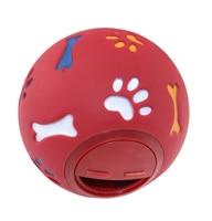 2 حجم أفضل علاج الاستغناء يلعب مضغ المطاط الكلب لعب trainging الكلب جرو لعب الكرة التعليمية التفاعلية