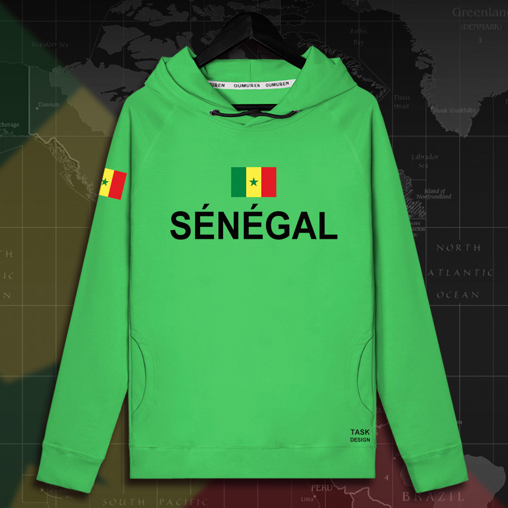 Senegal SEN africa Senegalese mens hoodie pullovers hoodies men sweatshirt new streetwear clothing Sportswear tracksuit new 01