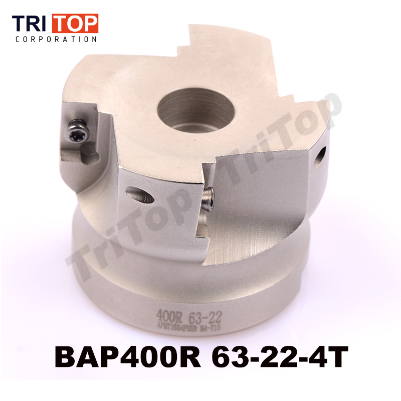 Free Shiping BAPJAP 400R-63-22-4T Milling tool For milling insert APMT1604PDER Face Mill Shoulder Cutter BAP 400R 63-22-4T precision m16 bt40 400r 63 22 face endmill and 10pcs apmt1604 carbide insert new