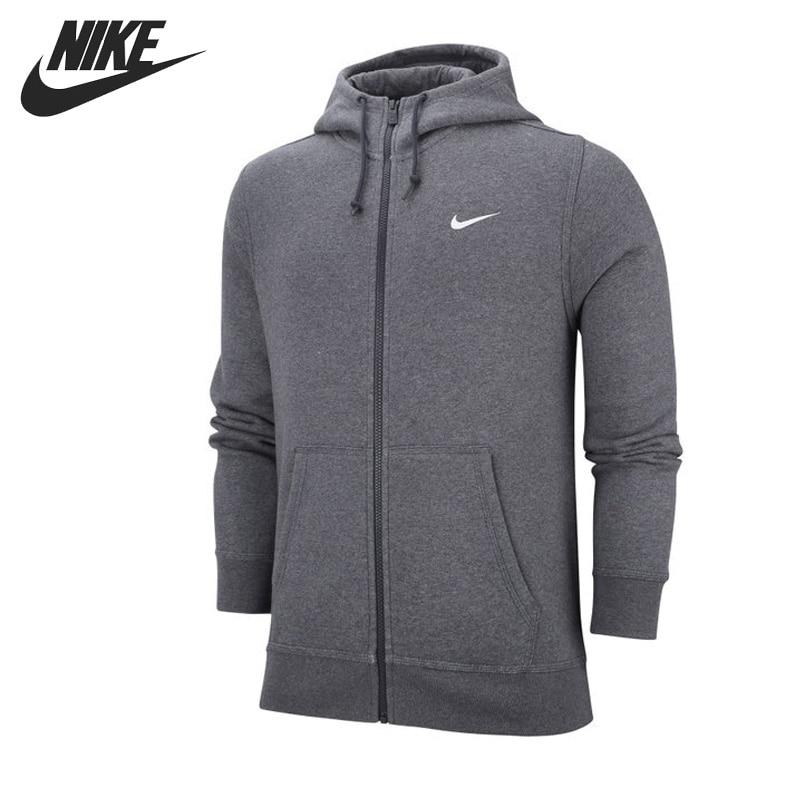 Original New Arrival 2017 NIKE CLUB FZ HOODY SWOOSH-N Mens Jacket Hooded Sportswear