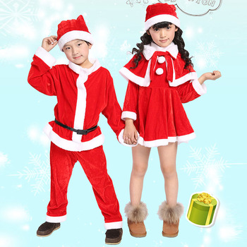Boys Costumes Sets Children Clothing Cosplay Santa Claus Clothes Kids Dresses for Girls Christmas Dress Set 4 6 8 10 12 14 Years dresses lucky child for girls 24 6 dress kids sundress baby clothing children clothes