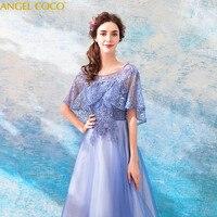 Фиолетовый кружевное элегантное фотография вечерние платья для беременных Для женщин мягкий тюль Длинные Арабский настоящая фотография д