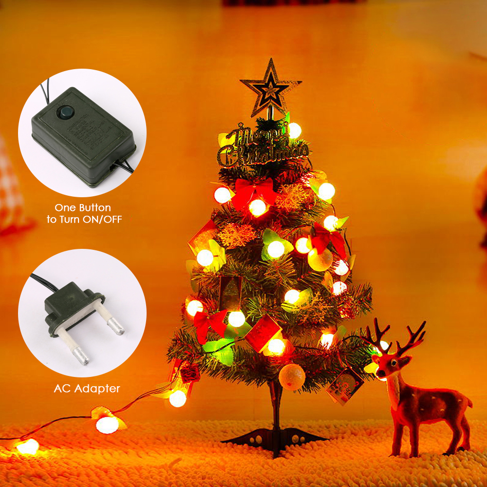 Artificial Christmas Tree With Lights.Us 10 32 42 Off 2019 New Year Diy Christmas Tree Ornaments Artificial Christmas Tree With Led Light Strip Star Topper Gift Bags Home Decorative In
