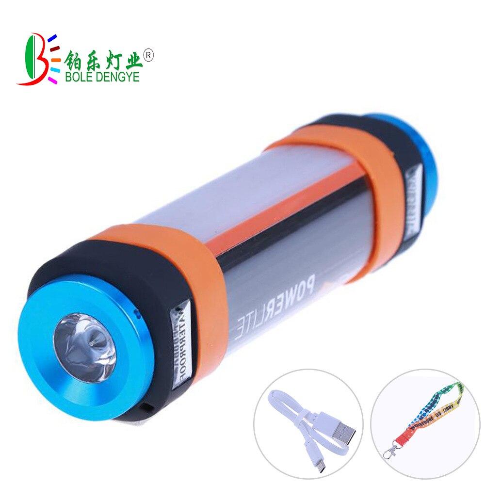 Lampe de randonnée anti-moustiques en plein air LED étanche lampe de randonnée avec aimant puissant lampe de Camp USB rechargeable