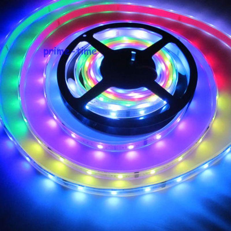 5 m 6803 IC 5050 digitale RGB Strip, 150LED IP67 buis waterdichte - LED-Verlichting