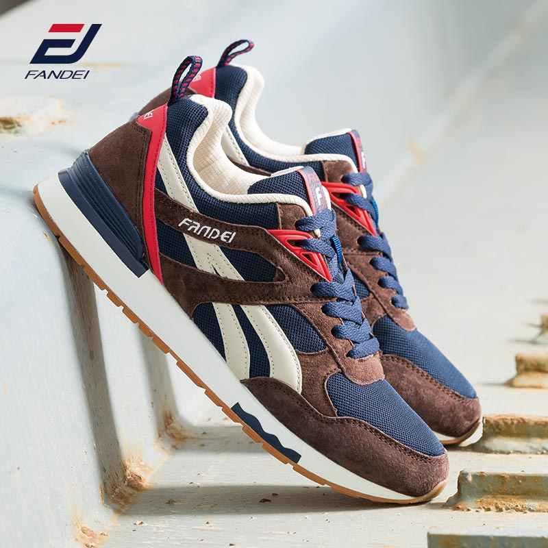 FANDEI Winter Retro Running Shoes for Men Outdoor Sports Men ...