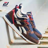 FANDEI Winter Retro Running Shoes for Men Outdoor Sports Men Sneakers Mens Shoes Walking Jogging Shoes Genuine Suede Leather PE