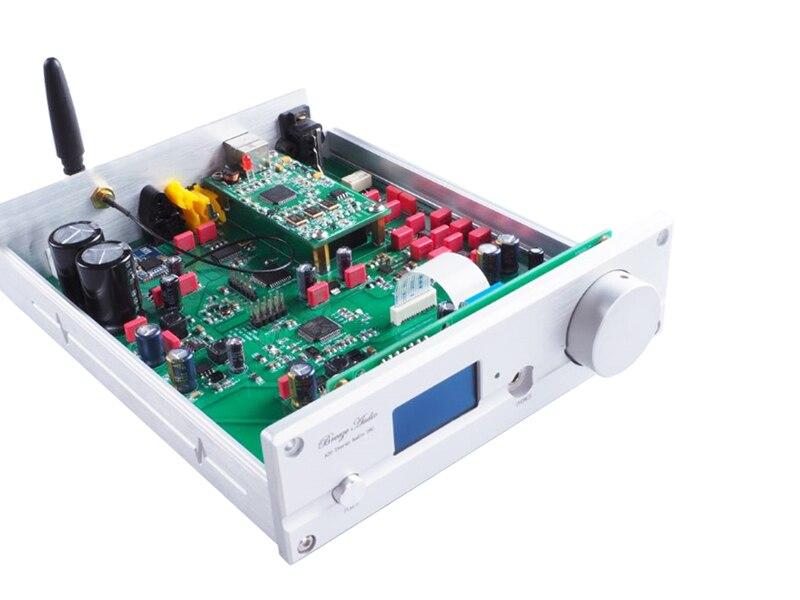 HiFi Bluetooth 5 0 DAC player of ES9038Q2M and XMOS U208 decoder supports  DSD512 APT-X-HD