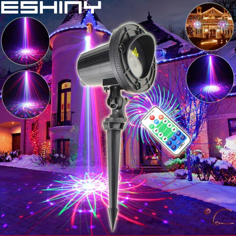ESHINY WF RGB лазерный проектор с 36 узорами, семейный праздник, вечерние, рождественская елка, DJ бар, настенный пейзаж, садовый светильник N6T85|rgb laser|patterns projectordj party lights | АлиЭкспресс