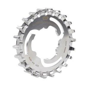 Image 2 - Gates Bicycle Sprockets Carbon Fiber Belts CDX Bike Drive Belt Cog Center Track Rear Sprocket For SHIMANO ENVIOLO STURMEY ARCHER