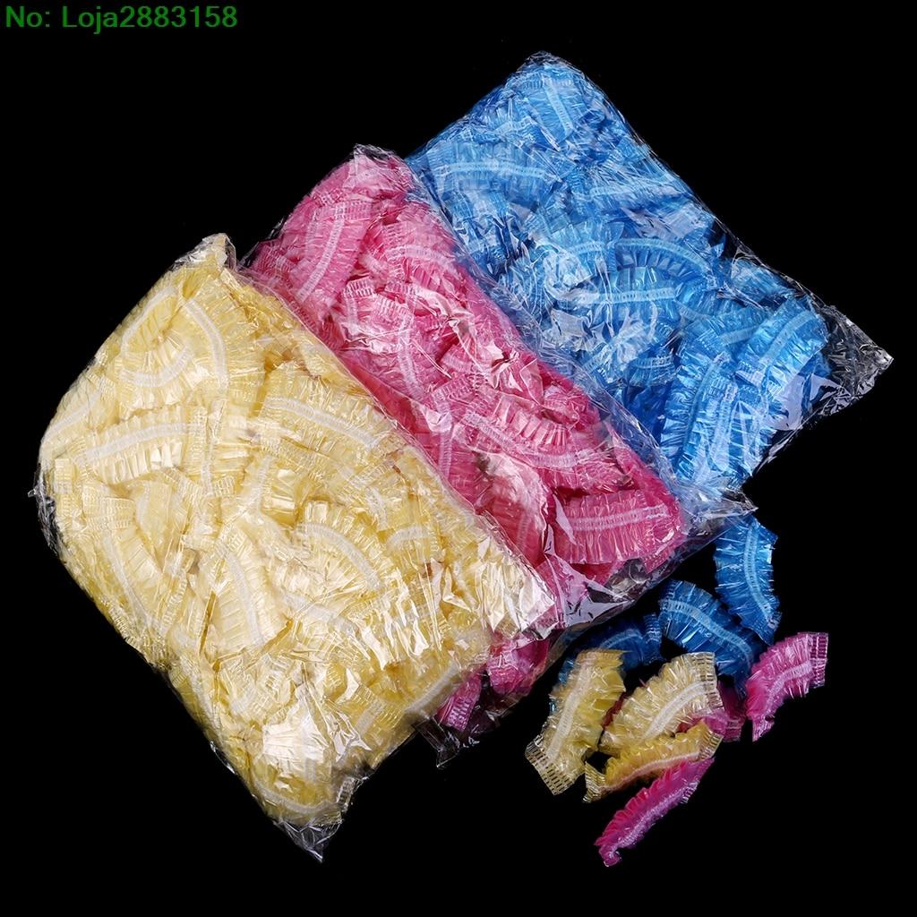 100 Pieces Salon Clear Ear Cover Ear Protection Hair Dye Hair Color Styling Tool