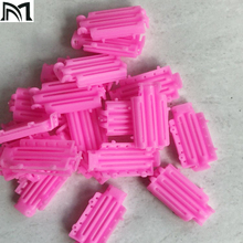 Hair Clips & Pins 45pcs/ Bag Pink For Girls Wave Perm Rod Corn Curler Maker DIY Beauty Hairdressing Styling Tools A8