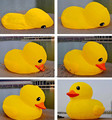 AC011 Free shipping Custom PVC airtight made promotion inflatable duck inflatable animal  for advertising