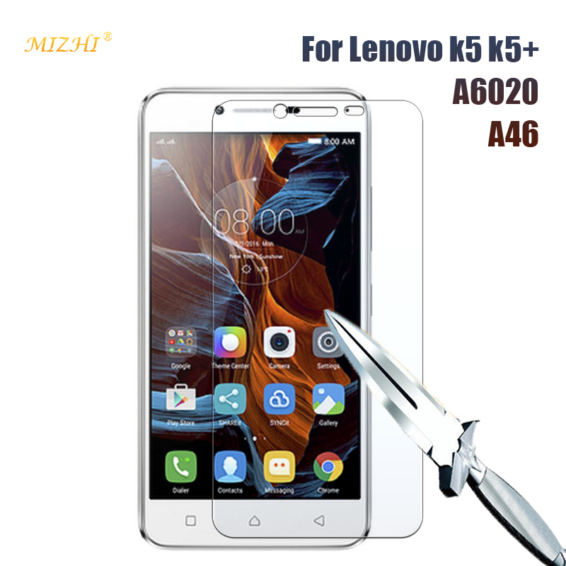 Premium Tempered Glass For Lenovo K5 Plus A6020 A46 Screen Protector Cover For Lenovo Vibe K 5 Plus Protective Film