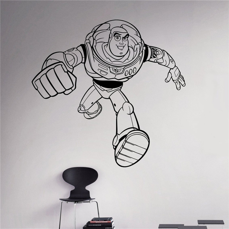 Buzz Lightyear Wall Mural Design Inspirations Part 25