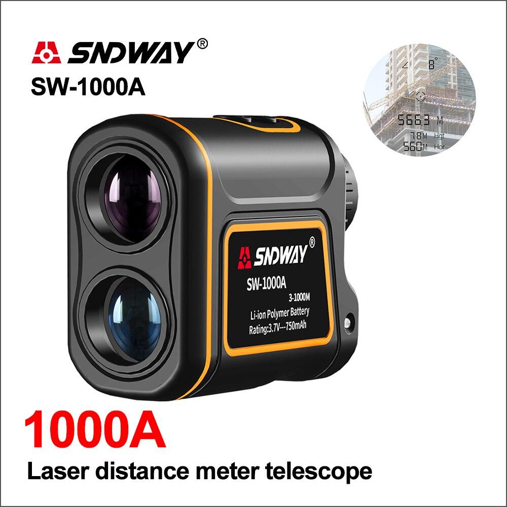 SNDWAY Golf Digitale Laser entfernungsmesser Abstand Meter Jagd Teleskop Trena Mini Laser Range Finder Messen 1000 M SW 1000A-in Laser-Entfernungsmesser aus Werkzeug bei AliExpress - 11.11_Doppel-11Tag der Singles 1