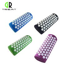 Acupressure Massage Pillow Massager Pude Acupressure Mat Lindre Stress Pain Acupuncture Spike Yoga Pillow For Lindre Stress