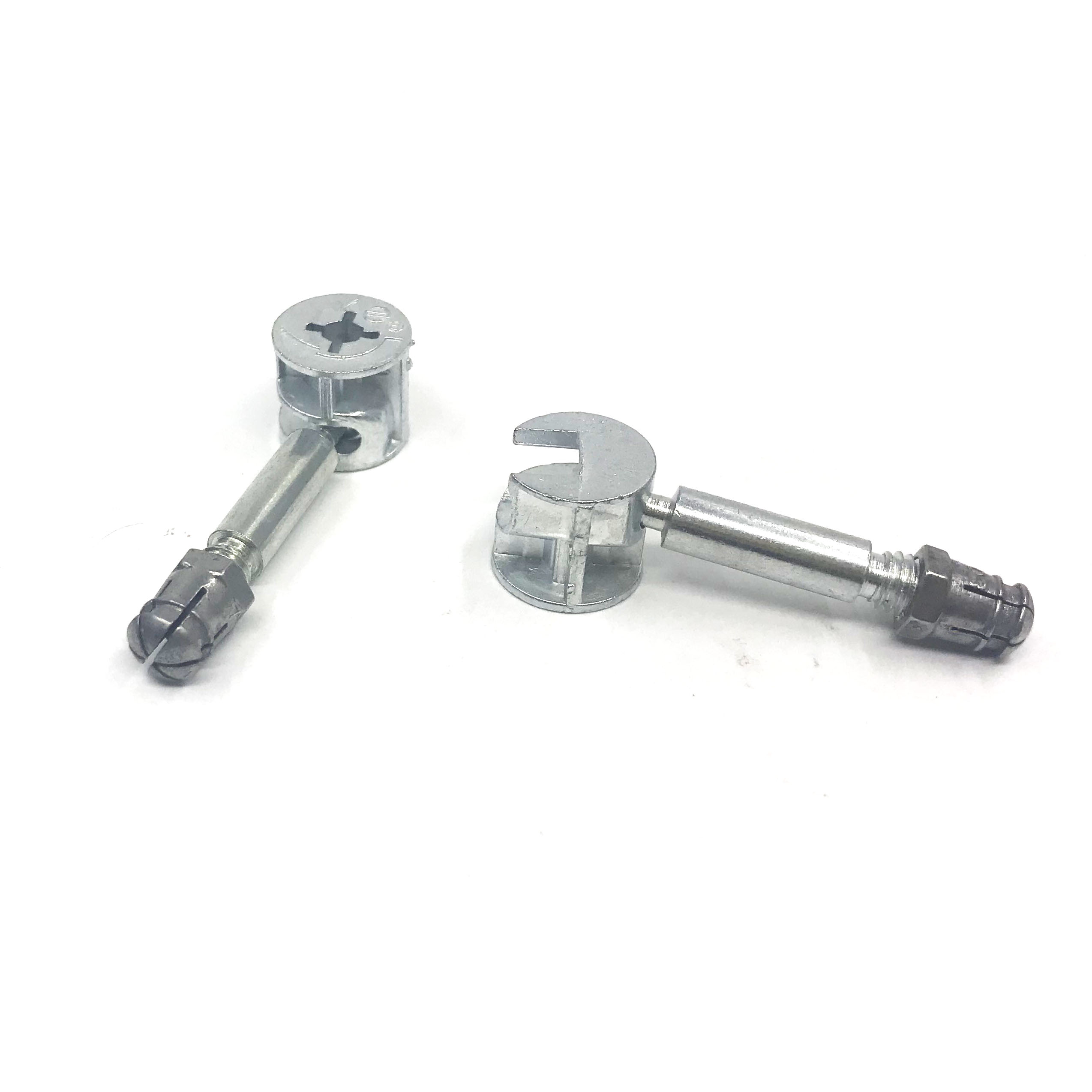 uxcell Furniture Cam Fittings w Dowels w Pre-Inserted Nuts 50 Sets
