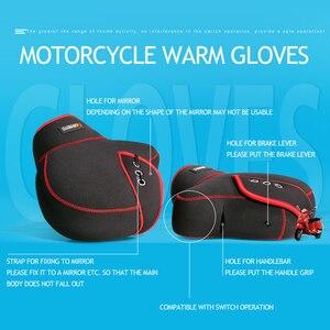 Image 2 - Motorhandschoenen Stuur Levers Handschoenen Scooter Hand Bar Winter Handschoenen Atv Bont Wanten Motorbike Quad Bike Waterdichte