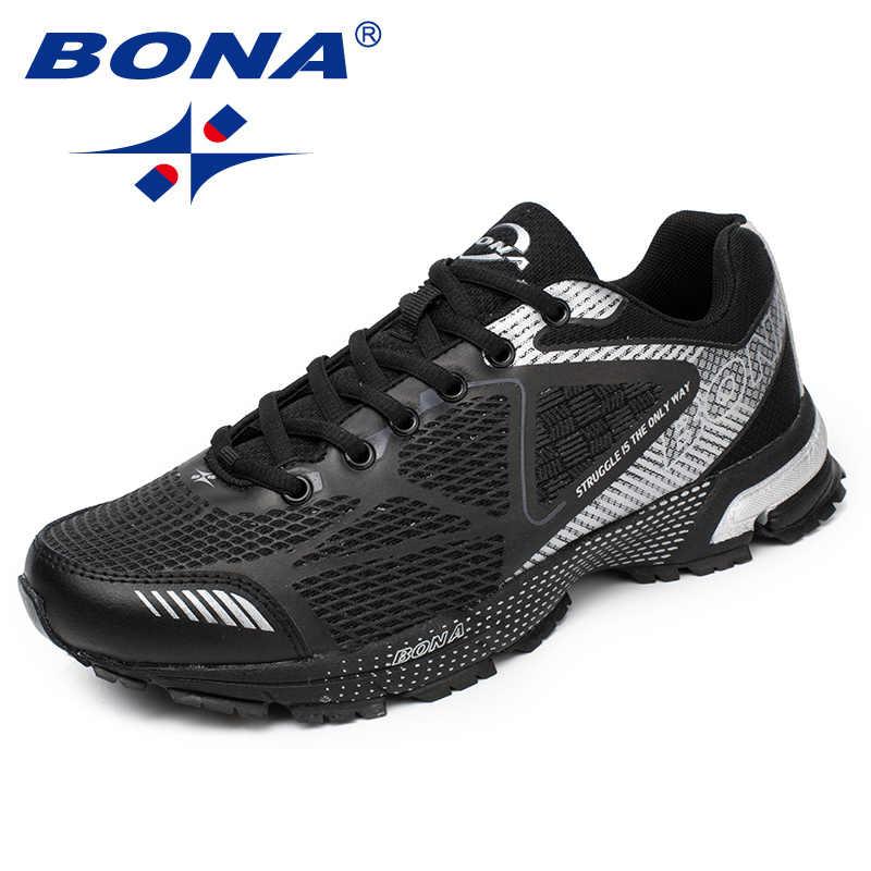 ef9e5c355 BONA/Новое поступление, мужские кроссовки в классическом стиле, мужские  кроссовки из сетчатого материала