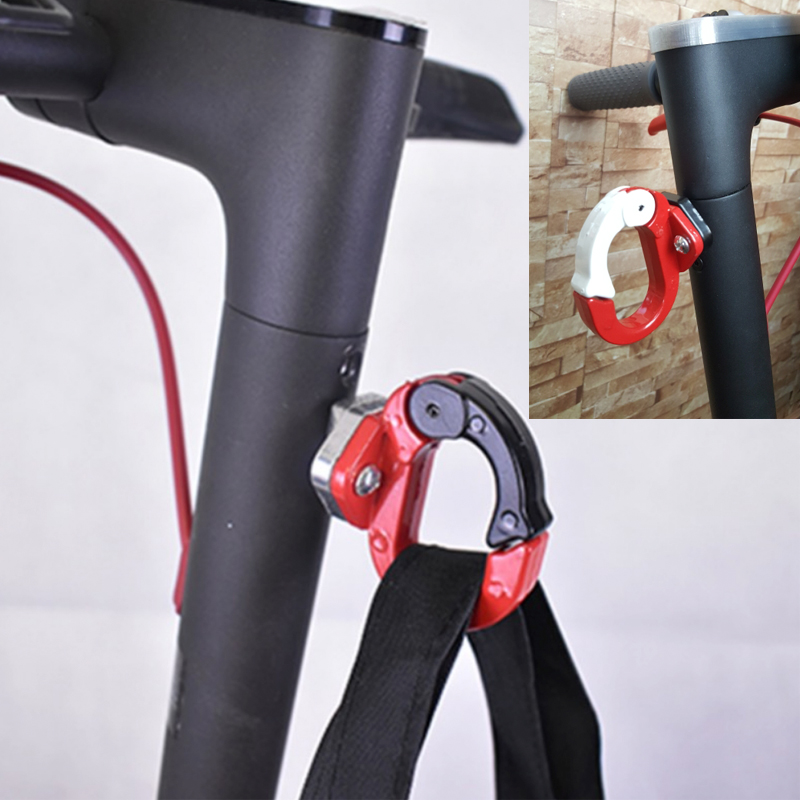 Xiaomi Mijia M365 Electric Scooter Front Hook Hanger Helmet Bags Claw DIY Gadget Skateboard Tools Bottle Luggage Cargo Carrier