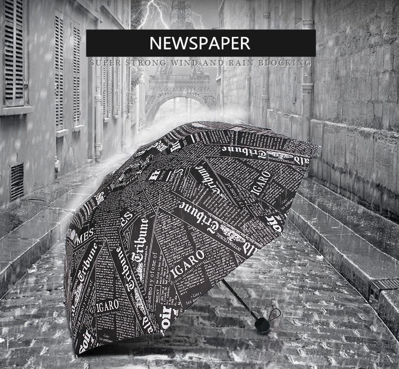 Creative Unbreakable Big Windproof Travel Umbrella Compact Lightweight Manual&Automatic Open Close Combination Color Umbrellas