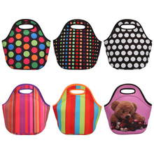 Fashion Neoprene Insulated Lunch Bag Thermal Box Food Container Tote Waterproof Food Hangbag Picnic Travel Portable  Thermo bag
