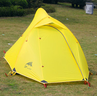 Conqueror 4 Seasons 2015 New Arrival 3F Gear Ultra Light Camping 2 Persons 2 Layer Silicon