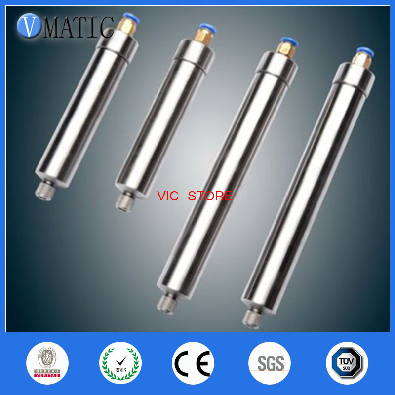 ФОТО Free Shipping 100CC corrosion-resistant stainless steel cones dispensing syringe
