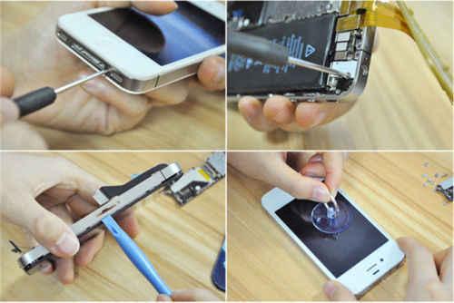 Ремонт наборы ручных инструментов для смартфона, мобильного телефона разобрать для Oukitel K5000 Mix 2 K8000 C9 C11 Pro U18 K6 K10 K6000 премиум-класса