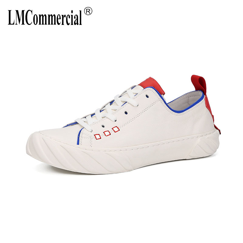 New Spring mens casual shoes all match cowhide man shoes leather genuine breathable sneaker fashion boots