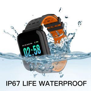 Image 2 - Reloj inteligente bluetooth bip smartwatch hombre relogio relojes นาฬิกาดิจิตอล Heart rate การตรวจสอบ smart watch ข้อความจอแสดงผล Q9