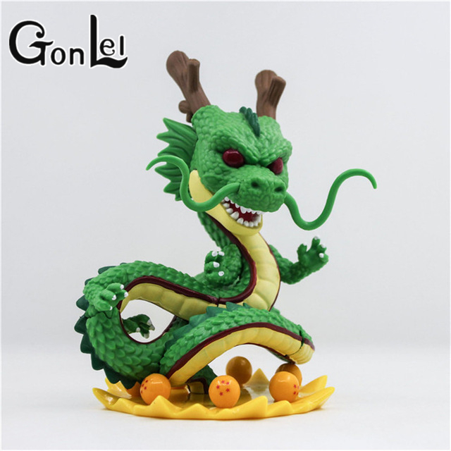 GonLeI dragon ball z toy action figures New Dragonball figuras 1 figure dragon shenlong +7 crystal balls shelf kids Toy dragon ball z action figure dragonball android 18 lazuli battle version toy figuras