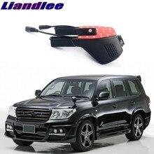 Liandlee для Toyota Land Cruiser 470 J120 460 J150 2002 ~ 2018 автомобильная дорога запись Wi-Fi DVR тире Камера вождения видео Регистраторы