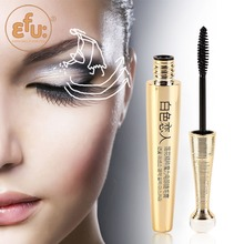 Professional Brand EFU High Quality Waterproof Black 6.5g Mascara Long-lasting Lengthening Lotus Series Cosmetic Eyes Makeup