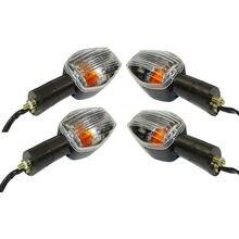 Waase lâmpada luz de seta dianteira e traseira, 4 peças de luz para honda «cbr600f4» cbr 929 954 600 rr f4 f4i