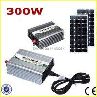 300W 18V MPPT Grid Tie Micro Inverter, Power Inverter 300W DC10.5 28V to AC90 140V or 190 260V Pure Sine Wave Output