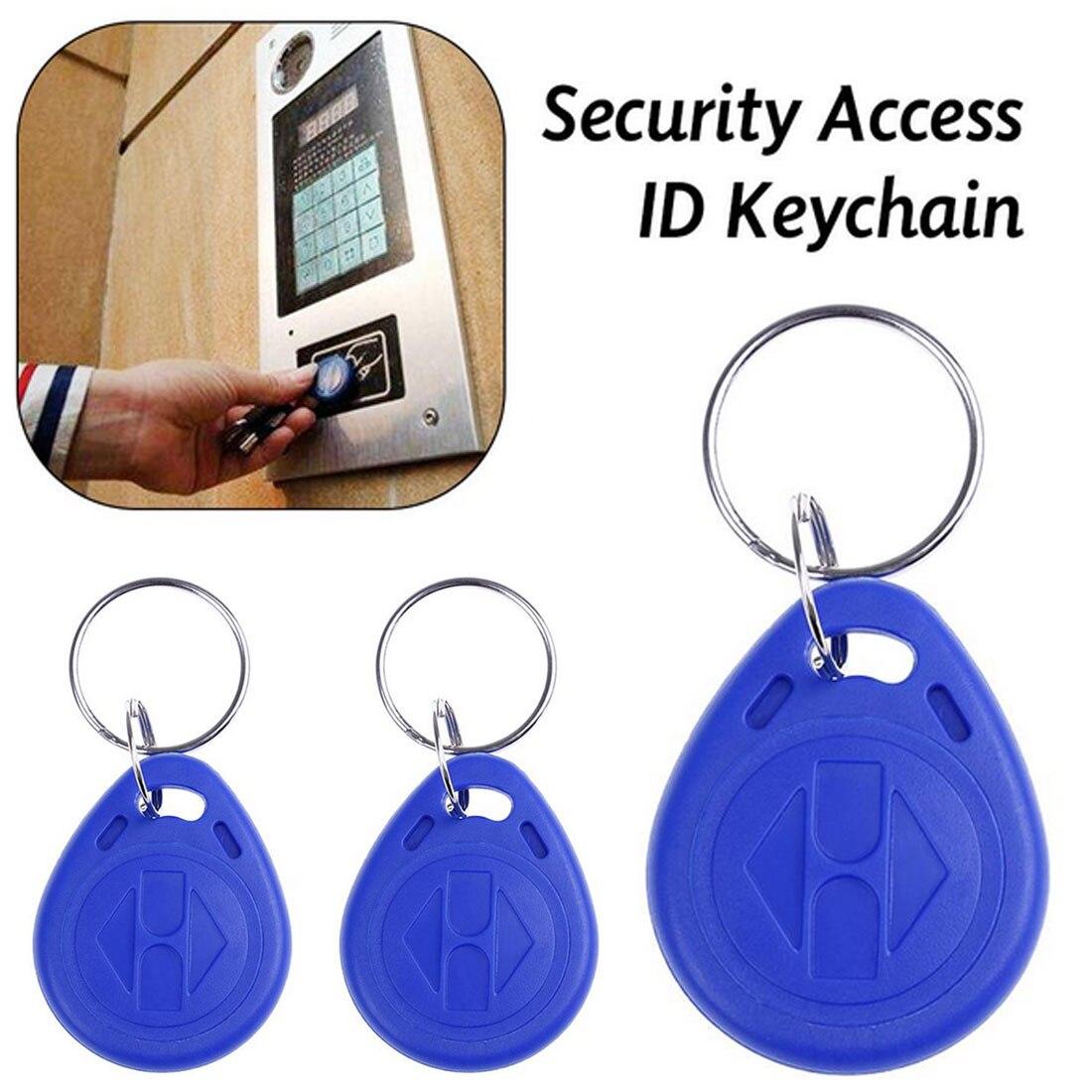 10 Pcs/lot TK4100 Copy Rewritable Writable Rewrite EM ID Keyfobs RFID Tag Key Ring Card 125KHZ Proximity Token Access Duplicate