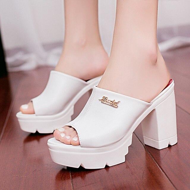 42acc27e760d New Summer Pep toe Woman Sandals