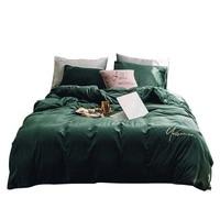 Chpermore/Теплый детский кашемировый Комплект постельного белья, утолщенная Двусторонняя бархатная наволочка, простыни, пододеяльник, королев