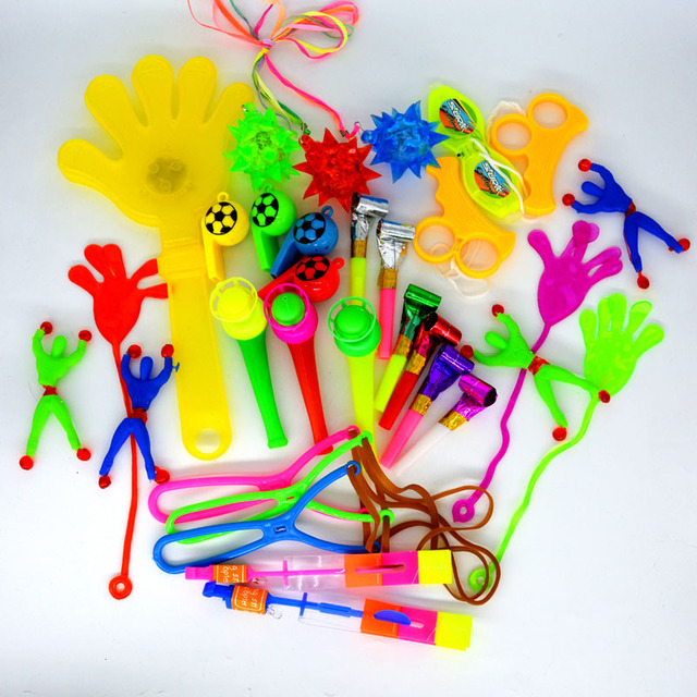 50 PCS Toys For Kids Party Favors Girl Boy Birthday Gift Bags Carnival Prizes School Reward
