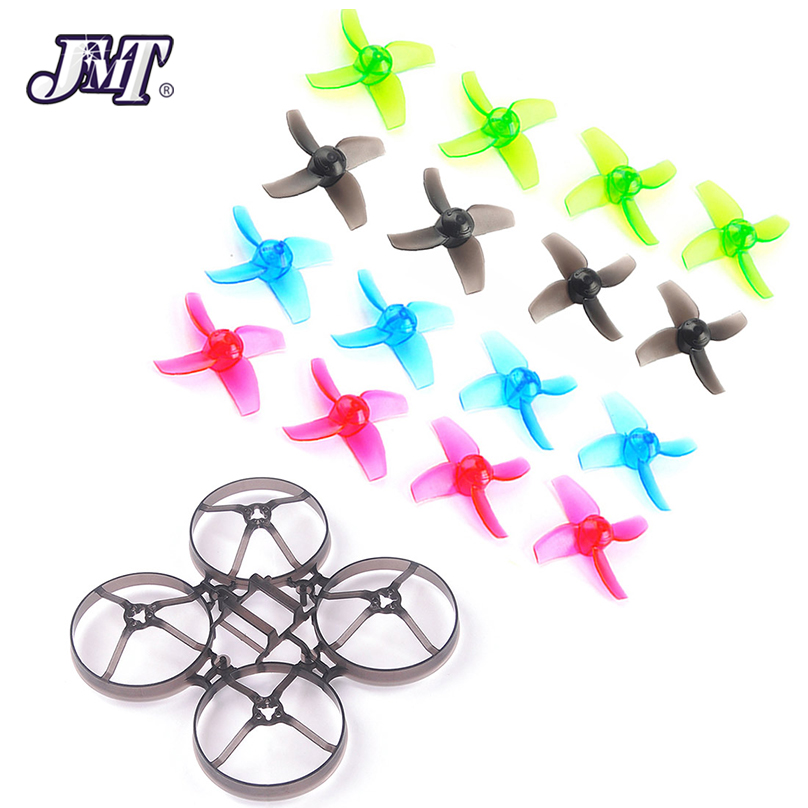 JMT Mobula7 V2 marco hélices 40mm Color hélices para 75mm Bwhoop75 sin escobillas Whoop Mobula 7 FPV que compite con el zángano RC Quadcopter