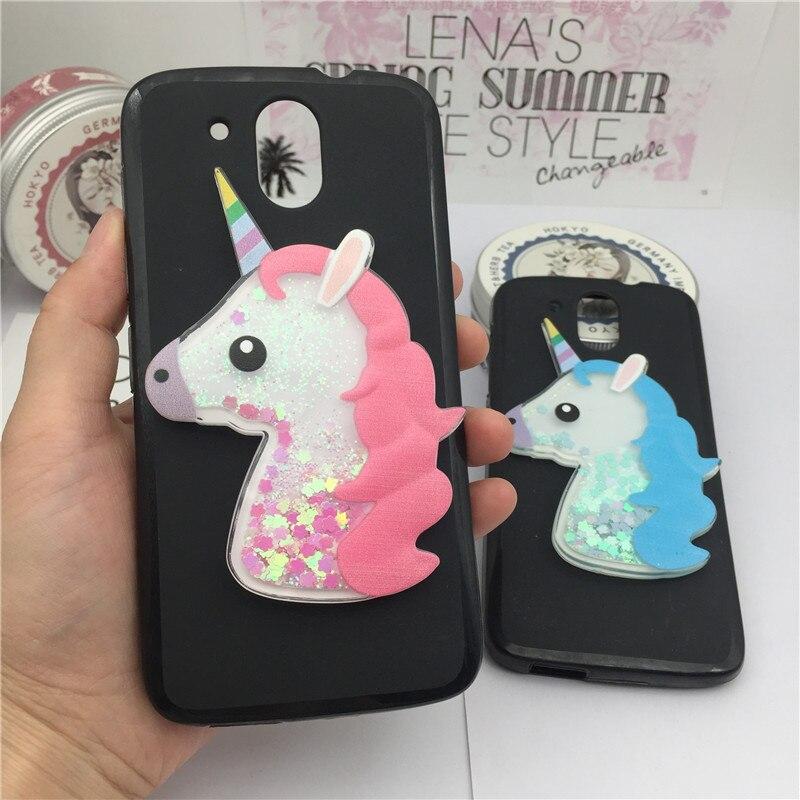 Quicksand Liquid Soft Silicone Case for HTC Desire 526 326 dual sim 326G 526G Phone Cover Cartoon Diamond Funda Coque Fashion