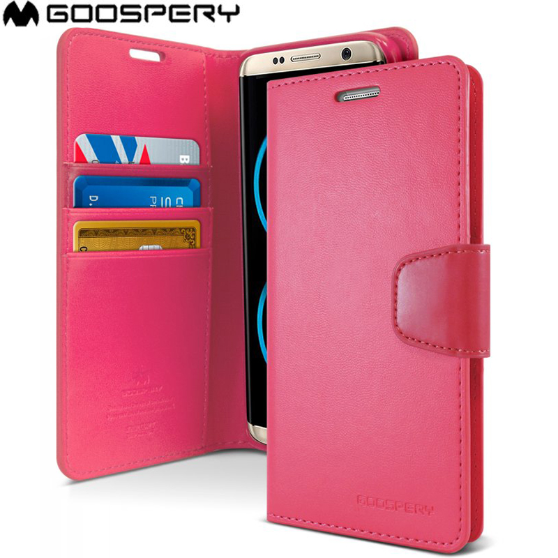 US $7.48 20% OFF|MERCURY Goospery Sonata Diary Leather Wallet Case Cover For Samsung Galaxy S8 S8 Plus in Wallet Cases from Cellphones &