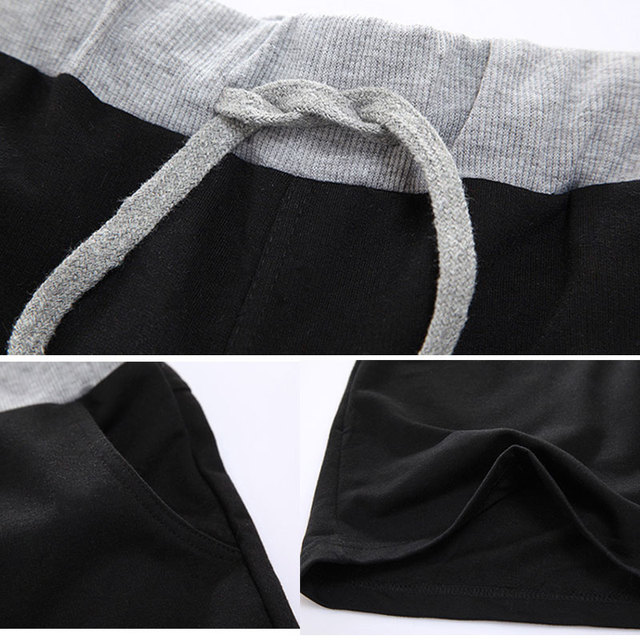 One Piece Casual Knee Length Sweat Shorts For Men
