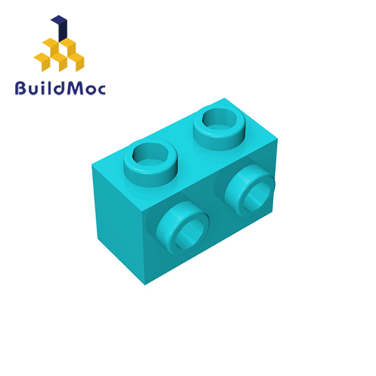 BuildMOC Compatible With Assembles Particles 11211 1x2 For Building Blocks Parts DIY LOGO Educational Creative Gift Toys