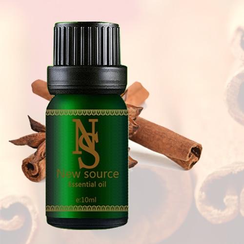 100% natural aromaterapie natural ulei de scorțișoară ulei esențial Strângeți pielea, calmați tractul digestiv Anti-îmbătrânire Relax 10ML Z40